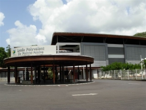 La rotonde du lycée polyvalent de Pointe-Noire Guadeloupe