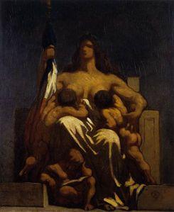 La République Honoré Daumier