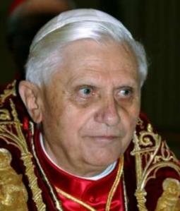 Le pape Benoït XVI