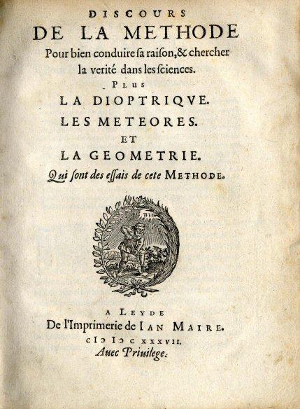 Discours de la Méthode 1637