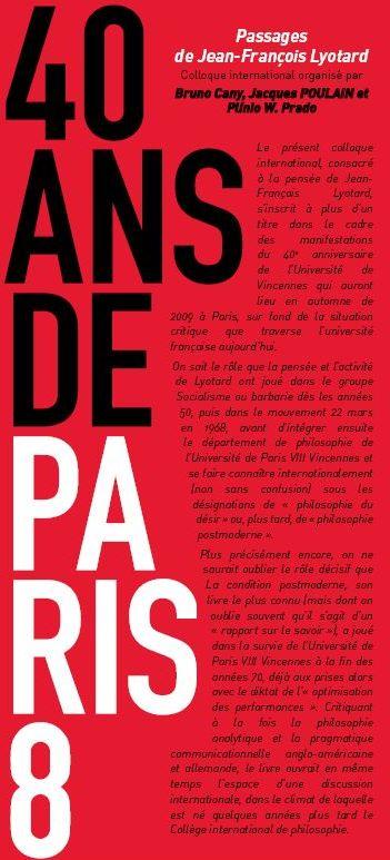 Passages Lyotard